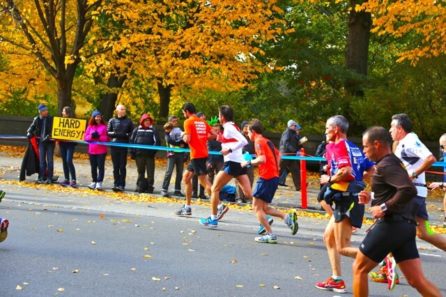 running sprint vs marathon