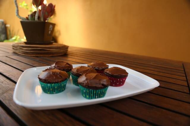 Bean cupcakes