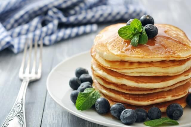 Pancakes Blueberry Med